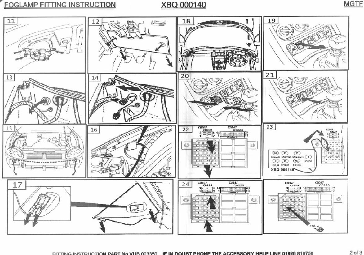2004 mg tf wiring diagram   25 wiring diagram images