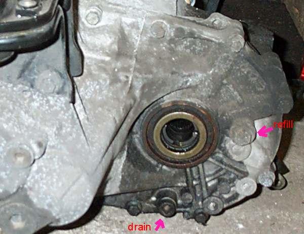 sostituire olio cambio Elise rover Gearbox_oil_dcp_3954