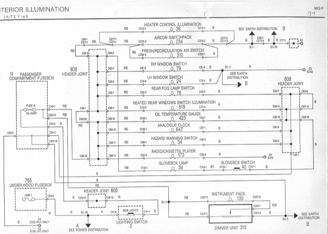 sb31 diagrams 1540980 mg zr wiring diagram mg zr horn wiring diagram rover 25 radio wiring diagram at mifinder.co