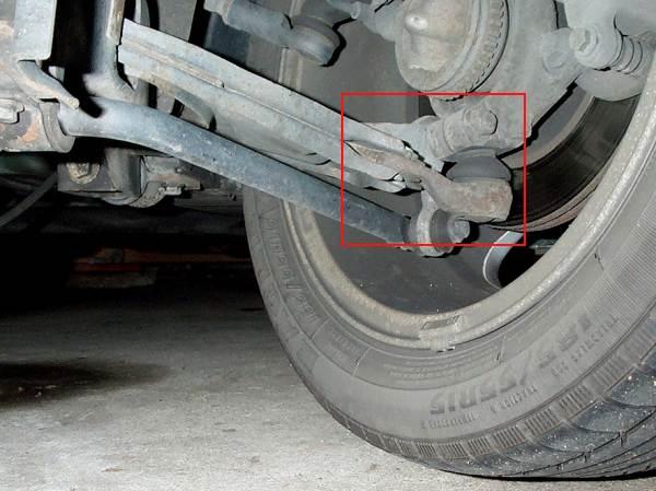 Steering Wheel Shaking >> MGF ausgeschlagenes Kugelgelenk / worn ball joint