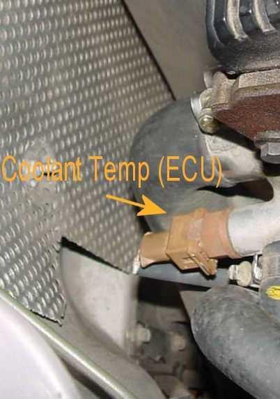 Engine Coolant Temperature Sensor >> MGF 111S MGTF Rover K-Engine cross reference, Sensor